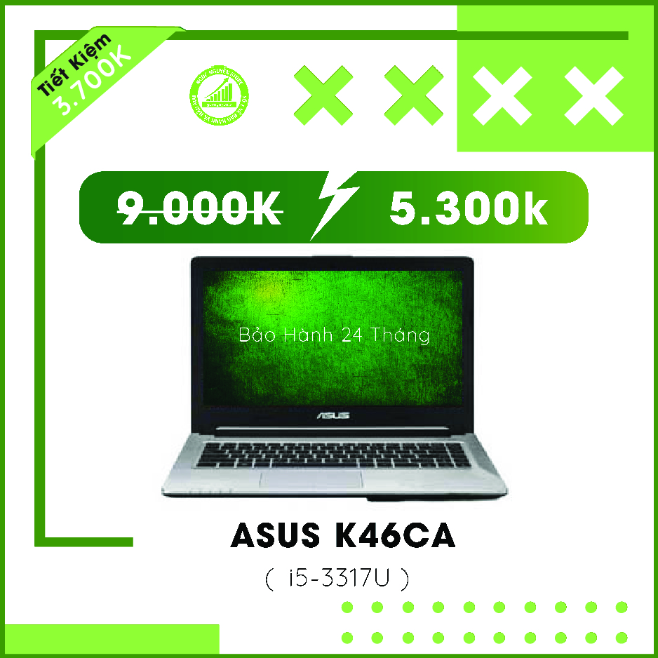 Asus K46CA I5-3317U/ RAM 4GB/ HDD 500GB/ HD Graphi...