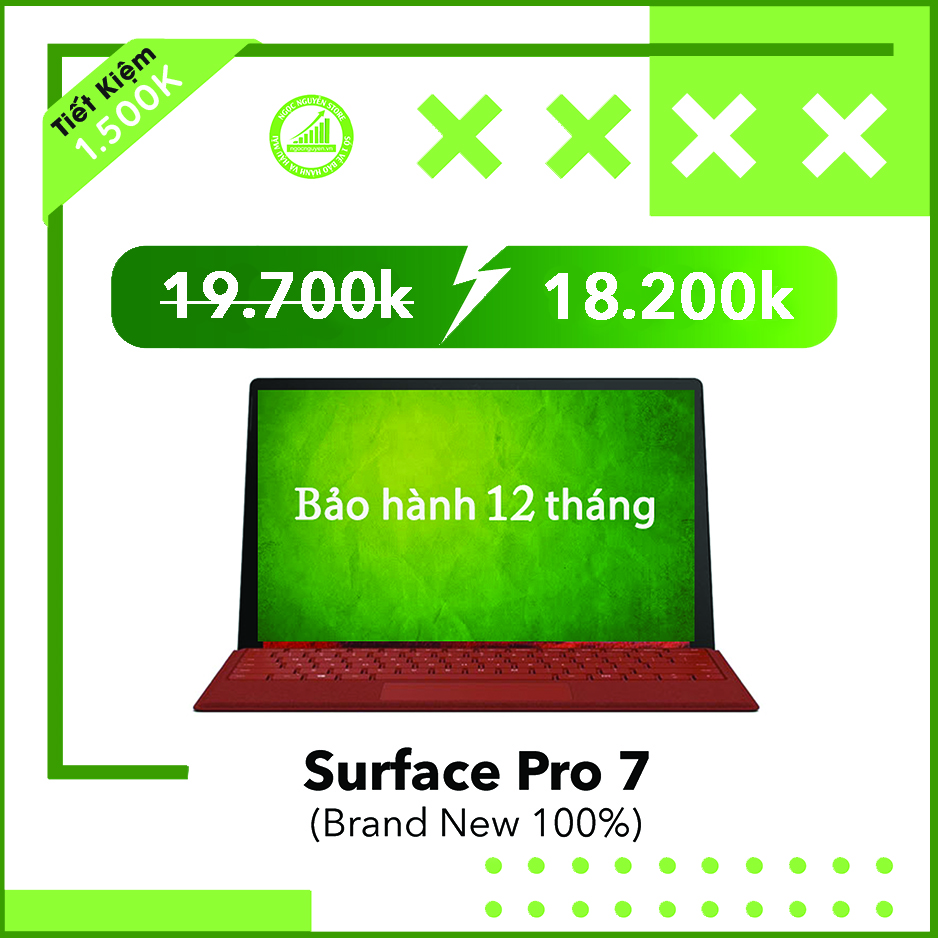 Surface Pro 2019 7/ 12.3 INCH 3K (Brand New 100%)
